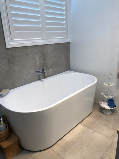 cleaning bath