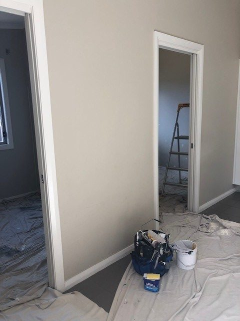 internal wall painting prep