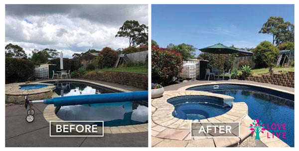 Prepare for sale style pool